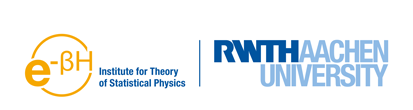 Logo of Institute for Theory of Statistical Physics